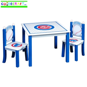 Chicago Cubs Youth Table and Chairs