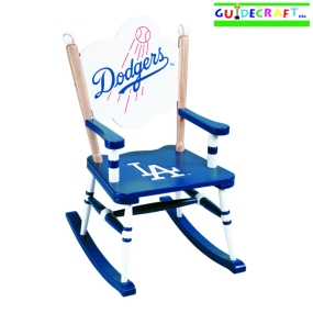 Los Angeles Dodgers Kid's Rocking Chair