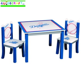 Los Angeles Dodgers Youth Table and Chairs