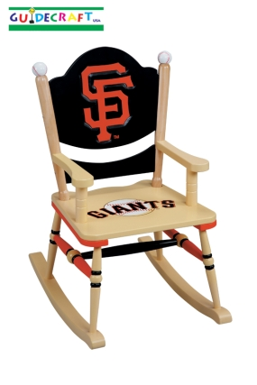 San Francisco Giants Kid's Rocking Chair