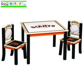 San Francisco Giants Youth Table and Chairs