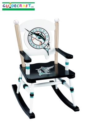 Florida Marlins Kid's Rocking Chair