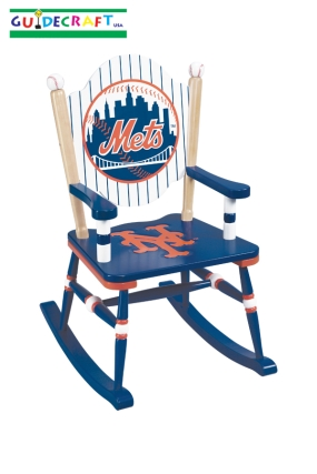 New York Mets Kid's Rocking Chair