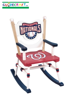 Washington Nationals Kid's Rocking Chair