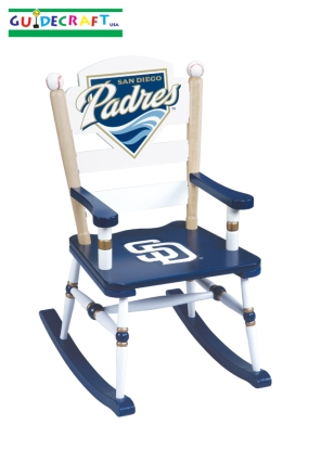 San Diego Padres Kid's Rocking Chair