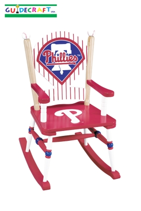 Philadelphia Phillies Kid's Rocking Chair