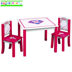 Philadelphia Phillies Youth Table and Chairs