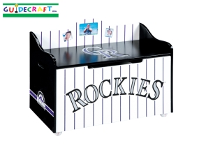 Colorado Rockies Toy Box