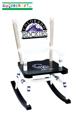 Colorado Rockies Kid's Rocking Chair