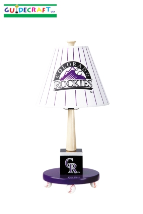 Colorado Rockies Table Lamp