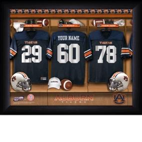 Auburn Tigers Personalized Locker Room Print