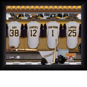 Pittsburgh Pirates Personalized Locker Room Print