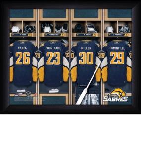 Buffalo Sabres Personalized Locker Room Print