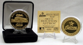 Minute Maid Park Gold Coin