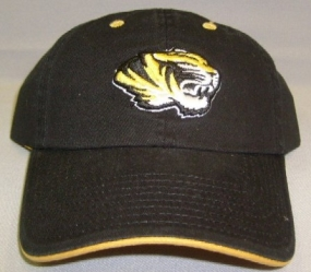 Missouri Tigers Adjustable Crew Hat