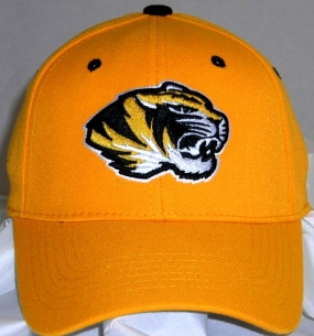 Missouri Tigers Team Color One Fit Hat