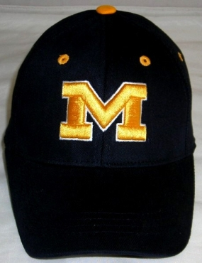 Missouri Tigers Youth Team Color One Fit Hat