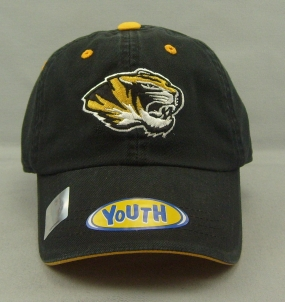 Missouri Tigers Youth Crew Adjustable Hat