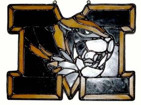 Missouri Tigers Suncatcher