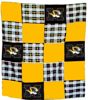Missouri Tigers Quilt