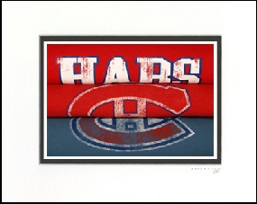 Montreal Canadiens Vintage T-Shirt Sports Art