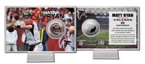 Matt Ryan Silver Coin Card