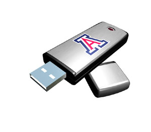 Rhinotronix Arizona Wildcats College Memory Stick