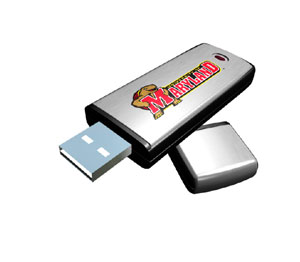 Rhinotronix Maryland Terrapins College Memory Stick