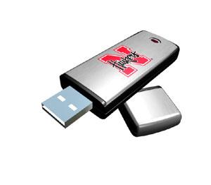 Rhinotronix Nebraska Cornhuskers College Memory Stick