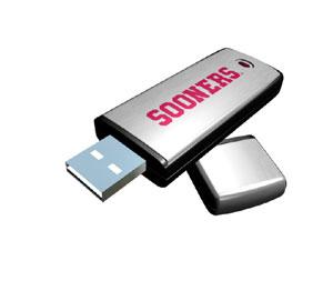Rhinotronix Oklahoma Sooners College Memory Stick