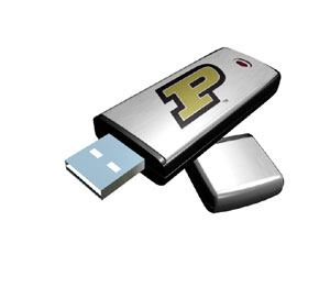 Rhinotronix Purdue Boilermakers College Memory Stick
