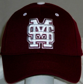 Mississippi State Bulldogs Team Color One Fit Hat