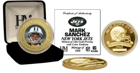 Mark Sanchez 24KT Gold Commemoratice Coin