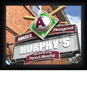 Anaheim Angels Personalized Pub Print