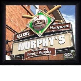 Houston Astros Personalized Pub Print