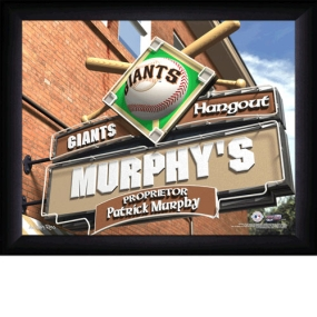 San Francisco Giants Personalized Pub Print