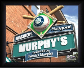 Seattle Mariners Personalized Pub Print