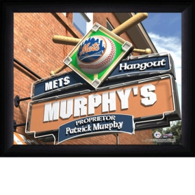New York Mets Personalized Pub Print