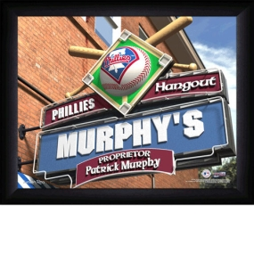 Philadelphia Phillies Personalized Pub Print