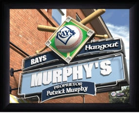 Tampa Bay Rays Personalized Pub Print