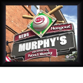 Cincinnati Reds Personalized Pub Print