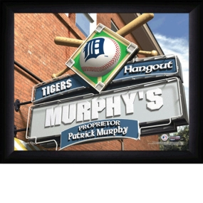 Detroit Tigers Personalized Pub Print