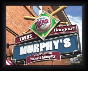 Minnesota Twins Personalized Pub Print