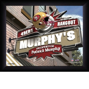 San Francisco 49ers Personalized Pub Print