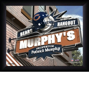 Chicago Bears Personalized Pub Print