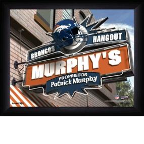 Denver Broncos Personalized Pub Print
