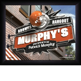 Cleveland Browns Personalized Pub Print