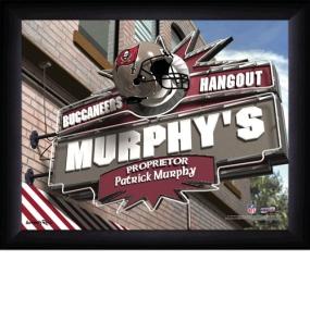 Tampa Bay Buccaneers Personalized Pub Print