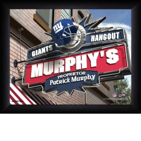 New York Giants Personalized Pub Print