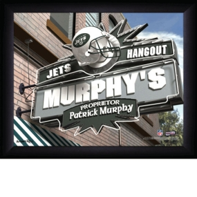 New York Jets Personalized Pub Print